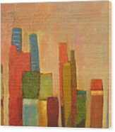 Hot Manhattan Wood Print by Habib Ayat