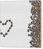 I Love Coffee Wood Print by Joana Kruse