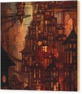 Illuminations Wood Print by Philip Straub