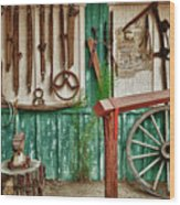 In Another Time Wood Print by Sandra Bronstein
