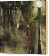 Inspector Hook Wood Print by Mandem
