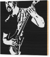 John Petrucci No.01 Wood Print by Caio Caldas