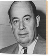 John Von Neumann 1903-1957 Wood Print by Everett