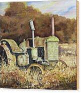 Johnny Popper Wood Print by Sam Sidders