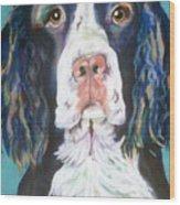 Kayla Wood Print by Pat Saunders-White