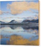 Ketchikan Sunrise Wood Print by Mike  Dawson