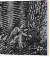 Killing Softly  Wood Print by Pralhad Gurung