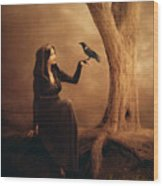 Kinship Wood Print by Jennifer Gelinas