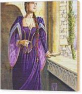 Lady Ettard Wood Print by Melissa A Benson