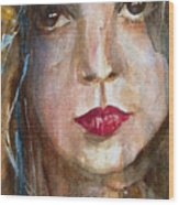 Lay Lady Lay Wood Print by Paul Lovering