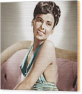 Lena Horne, Mgm Portrait, Ca. 1940s Wood Print by Everett
