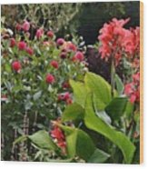 Les Fleurs De Honfleur Wood Print by Joe Bonita