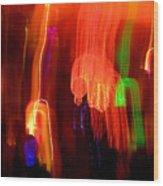 Light Falling Wood Print by Elizabeth Hoskinson
