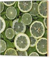 Limons Wood Print by Christian Slanec