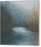 Little Buffalo River Wood Print by Mary Ann King