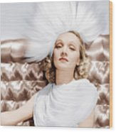 Marlene Dietrich, Ca. 1930s Wood Print by Everett