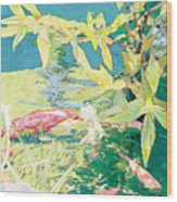Marry-go-round Kio In The Spring-may Day Wood Print by Judy Loper
