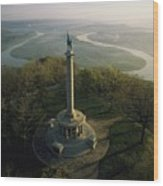 Memorial To The Battle Of Chattanooga Wood Print by Sam Abell