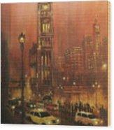 Milwaukee City Hall Wood Print by Tom Shropshire