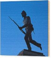 Minnesota Soldier Monument At Gettysburg Wood Print by John Greim