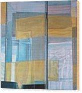 Miroir Wood Print by Muriel Dolemieux