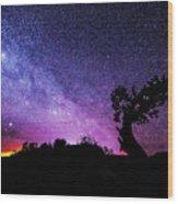 Moab Skies Wood Print by Chad Dutson