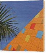 Modern Architecture Wood Print by Susanne Van Hulst