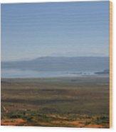 Mono Basin Landscape - California Wood Print by Christine Till