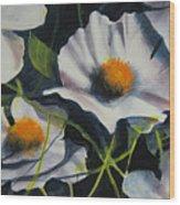 More Poppies Wood Print by Robert Carver