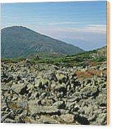 Mount Jefferson - White Mountains New Hampshire  Wood Print by Erin Paul Donovan