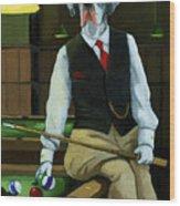 Mr. Thomas Tudor - Great Dane Portrait Wood Print by Linda Apple