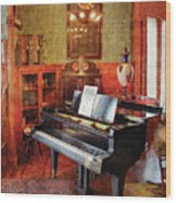 Music - Piano - It's A Long Long Way To Tipperary Wood Print by Mike Savad
