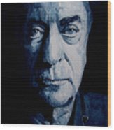 My Name Is Michael Caine Wood Print by Paul Lovering