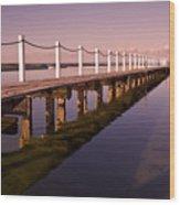 Narrabeen Sunrise Wood Print by Avalon Fine Art Photography