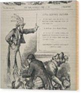 Nast: Civil Service Reform Wood Print by Granger