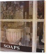 Need Soaps Wood Print by Susanne Van Hulst