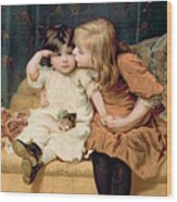 Nevermind Wood Print by Frederick Morgan