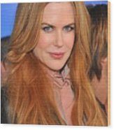 Nicole Kidman At Arrivals For Just Go Wood Print by Everett