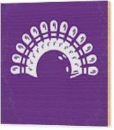 No010 My Big Lebowski Minimal Movie Poster Wood Print by Chungkong Art
