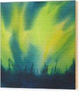 Northern Lights I Wood Print by Kathy Braud