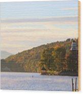 October Landing Wood Print by Michael Mooney