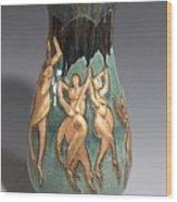 Ode To Matisse The Dancers Wood Print by Dan Earle