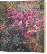 Olbrich Garden Series -  Garden 1    Wood Print by Lisa Konkol