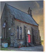 Old Church Wood Print by Charuhas Images