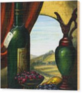 Old Country Feeling II Wood Print by Italian Art