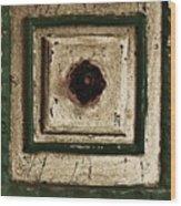 Old Knob Abstract Wood Print by Marsha Heiken