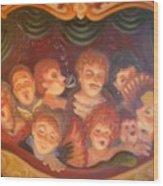 Opera Delight Wood Print by Scott Jones
