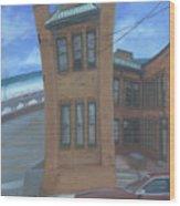 Oriental Avenue Wood Print by Suzn Smith