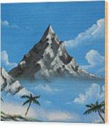 Paradise Lost  Wood Print by Joseph Palotas