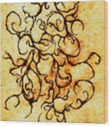 Parchment Wood Print by Nathaniel Hoffman
